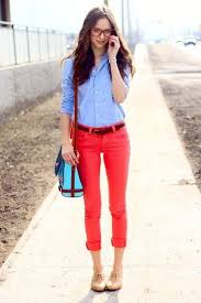 What To Wear With Light Jeans 8 Answers What Colour Tops Should I Wear With Red Jeans