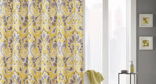 curtains yellow contemporary style living room stunning yellow
