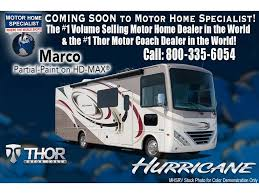 kw dealer 2018 thor motor coach hurricane 29m rv for sale mhsrv w 2 a cs