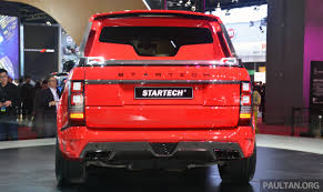 land rover truck 2015 startech introduces range rover based pick up truck image 331842