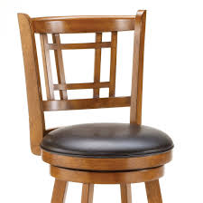 wooden bar stools with backs that swivel infinity wood leather bar stool swivel stools with backs black
