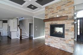 Dining Room With Fireplace by Fireplaces U2013 Stanton Homes