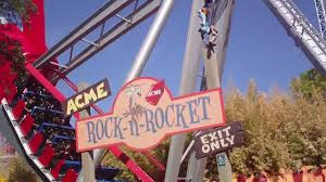 Sox Flags Over Texas Wylie Coyote Ride Six Flags Over Texas Rock N U0027 Rocket Youtube