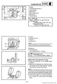 kodiak 400 carb diagram 2000 yamaha kodiak 400 idle adjustment