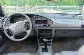 Taurus Sho Interior 1992 Ford Taurus Sho News Reviews Msrp Ratings With Amazing