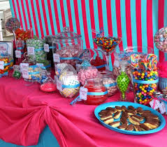 house kid birthday party decoration and candy buffet ideas how