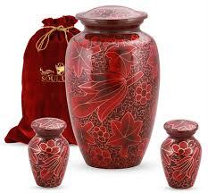 funeral urn floral cremation urn soulurns funeral urns keepsake urns