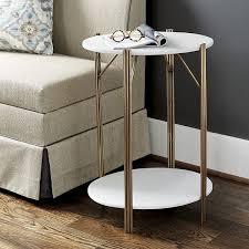 ballard designs end tables ballard designs jordan marble side table 299 liked on polyvore