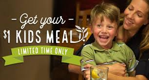 olive garden coupon 1 kid u0027s meal with entree purchase money
