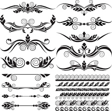 ornaments elements vector border graphic 03 millions vectors