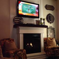 we added a gas fireplace we built this out of a free standing