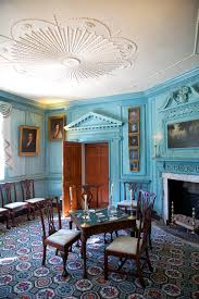 Interior Blue Room By Room George Washington U0027s Mount Vernon