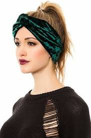 velvet headbands this flannel turban is soft and for those throw your