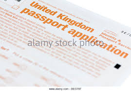 passport application form stock photos u0026 passport application form