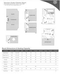Amway Center Floor Plan Sheaton Suites Orlando Airport Meeting Roomssheraton Suites