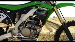 motocross action videos motocross action u0027s first look 2014 kawasaki kx250f youtube