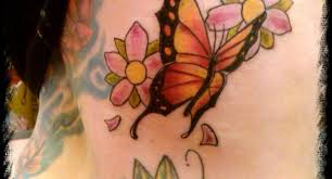 flower u0026 butterfly tattoo designs tribal flower and butterfly