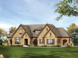 story country house stone one story house plans for ranch style