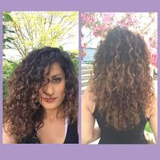 why is my hair curly in front and straight in back balayage hair painting naturally curly hair dark brown to dark