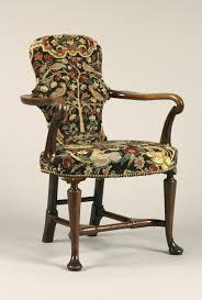 Queen Armchair English Walnut Queen Anne Period Shepherds Crook Armchair With