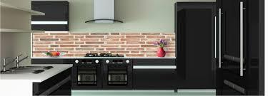 briques cuisine déco mur de briques crédence toutes les crédences pour votre