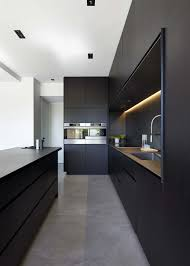 modern kitchen black cabinets 43 dramatic black kitchens that make a bold statement