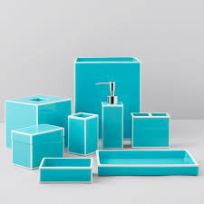 Turquoise Bathroom Accessories by Kassatex Soho Bath Accessories Bloomingdale U0027s