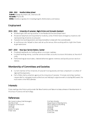 Resume Examples Skills by Example Skill Based Cv