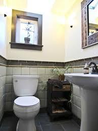 half bathroom backsplash ideas best 25 half bathrooms ideas on