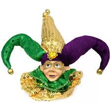 mardi gras jester ornament 71446 mardigrasoutlet