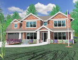 building a craftsman house craftsman home plan for a shallow lot 85041ms architectural