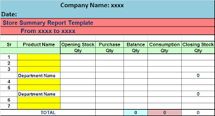 stock report template excel stock report template fieldstation co