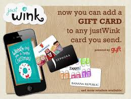 sending gift cards just got more awesome justwink and gyft pair
