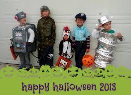 Kids Robot Halloween Costume Costume Brunnette