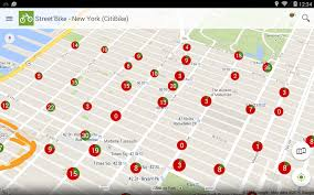 New York Street Map App by Street U0027bike United States Android Apps On Google Play