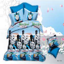 Thomas Single Duvet Cover Home Textiles Blue Thomas Train Pattern 3d Bedding Sets 4pcs Duvet