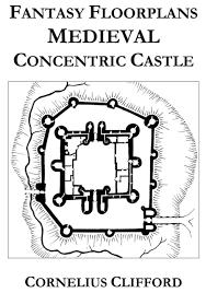 medieval concentric castle fantasy floorplans dreamworlds