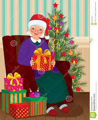 christmas gifts for grandma stock photo image 35146350