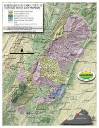 George Washington National Forest Map by Shenandoah Mountain National Scenic Area Friends Of Shenandoah