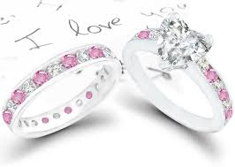 pink and black engagement rings diamond and sapphire engagement rings fashion trends styles for 2014