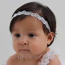 infant headbands white baby headband pearl baby headband halo headband infant