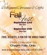 Breezewood Gardens Chagrin Falls - fall fest breezewood gardens