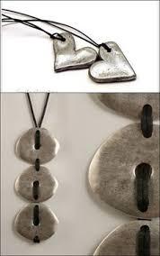 use rubber sts in salt dough to make ornaments salt dough