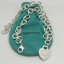 heart tag necklace tiffany images Tiffany co 16 quot please return to tiffany co sterling silver jpg