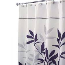 Gray And Brown Shower Curtain - black shower curtains shower accessories the home depot
