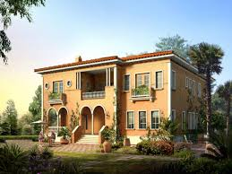 italian villa home designs floor plans house tuscan courtyard plan