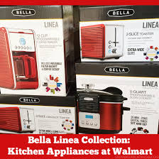 Bella Linea 4 Slice Toaster Bella Linea Collection Kitchen Appliances Exclusively At Walmart