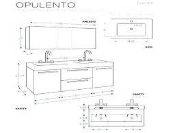 Bathroom Cabinet Height Vessel Sink Vanity Height Sink Ideas