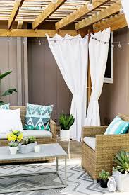 Cabana Curtains Make Your Own Outdoor Pergola Curtains U2013 A Beautiful Mess