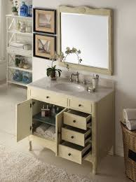 ideas distressed bathroom vanity with inspiring distress light